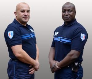2014-12-11 - Policiers Olivier BOUTEILLER et Frédéric GOMIS
