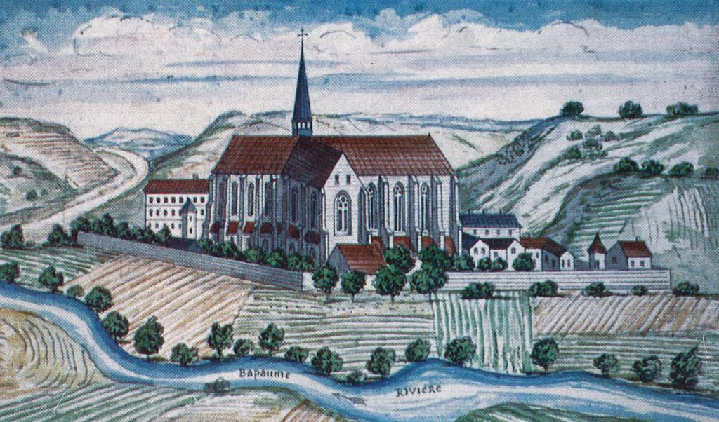 Fin 17è siècle - L'Abbaye cistercienne de NDB couleur 2