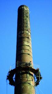 La cheminée Gresland en restauration