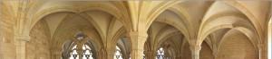 Voûtes d'une abbaye cistercienne