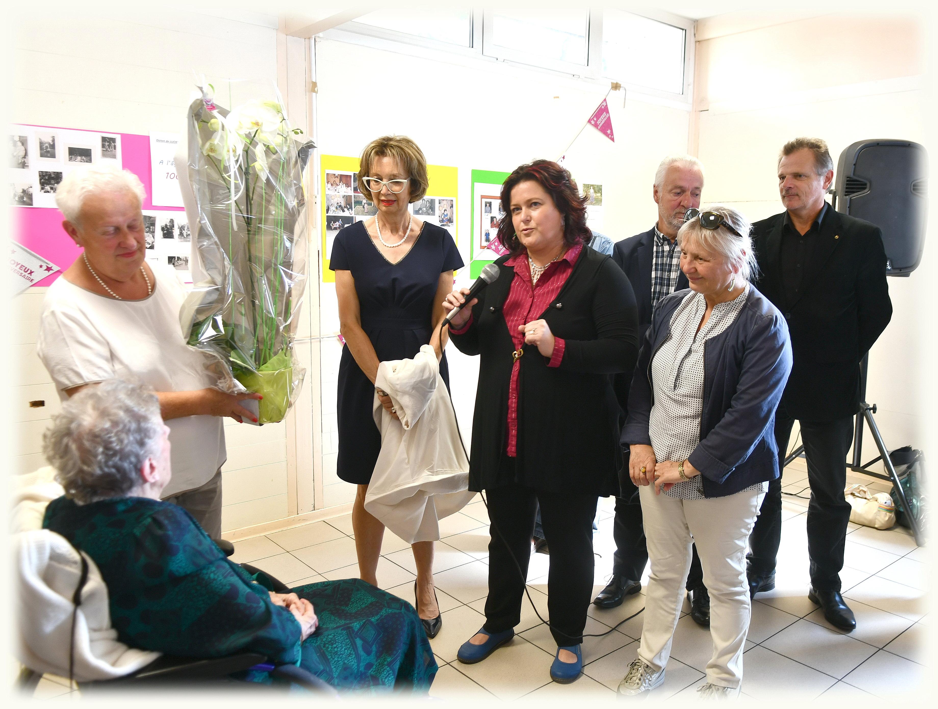 100Ans Mme Delabarre Lucienne N.D.de Bondeville (3)