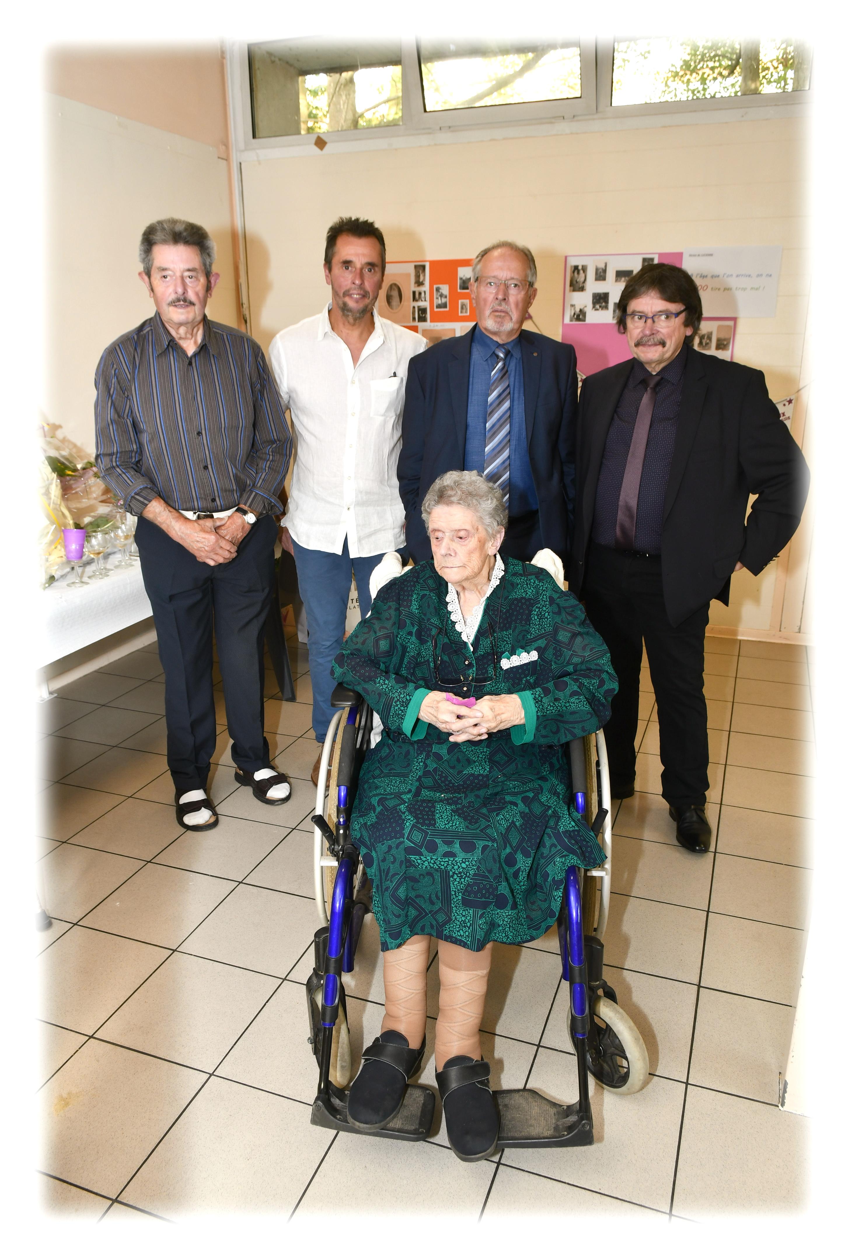 100Ans Mme Delabarre Lucienne N.D.de Bondeville (7)