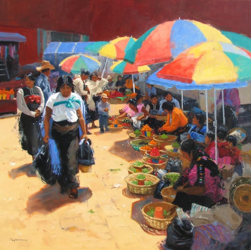 Le grand marché  de San Cristobal d'Annie PUYBAREAU