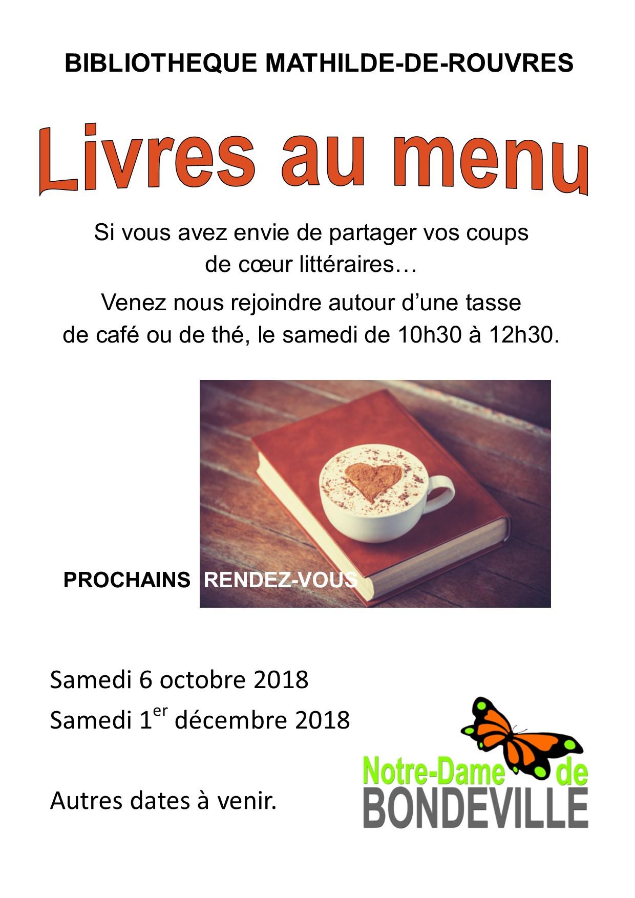 Livres au menu 2018-2019 annuelle portrait