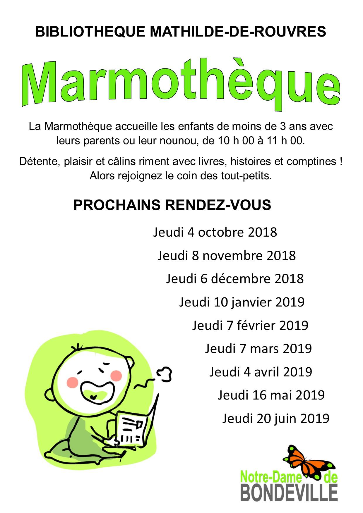 Marmothèque 2018-2019_Affiche portrait