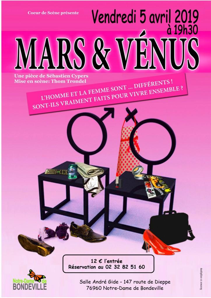 Affiche Mars et Venus
