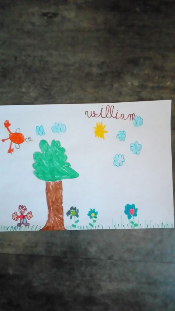 william (6 ans)